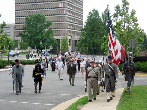 March to the Courthouse